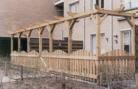 hardhouten schutting »  sbn bouw bv »  gulberg  38 »  5674 te »  nuenen